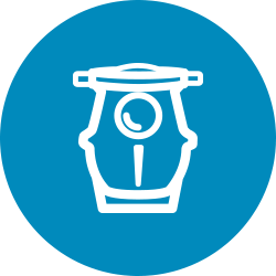 Blue pool ump equipment icon